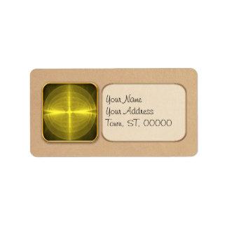 Fractal - Christ - Holy Cross Address Label