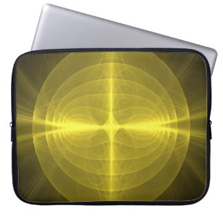 Fractal - Christ - Holy Cross Laptop Sleeves