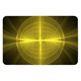 Fractal - Christ - Holy Cross Rectangular Photo Magnet