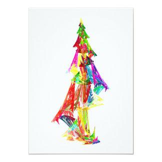 Fractal - Christmas Tree Card