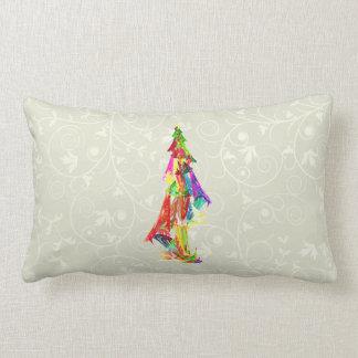 Fractal - Christmas Tree Pillow