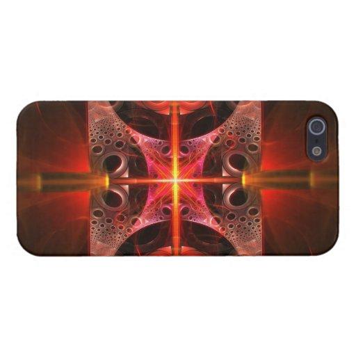 Fractal - ciencia - fusión fría iPhone 5 fundas