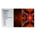 Fractal - ciencia - fusión fría tarjetas de visita