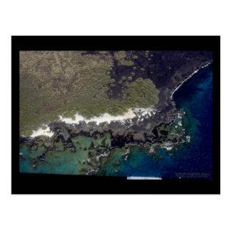 Fractal Coast - Hawaii Postcard