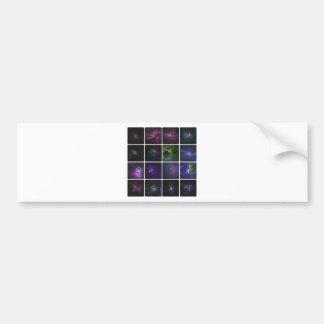 Fractal colección etiqueta de parachoque