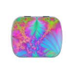 Fractal Color Explosion Candy Tin