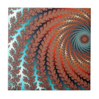 Fractal Color Image Tile