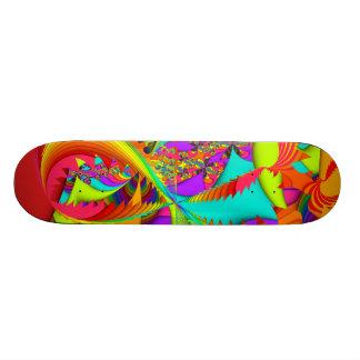 Fractal Color Me Bright Skateboard