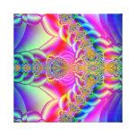fractal colorido impresiones de lienzo