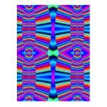 Fractal colorido postales