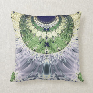 Fractal Colors Art No 256 Throw Pillow