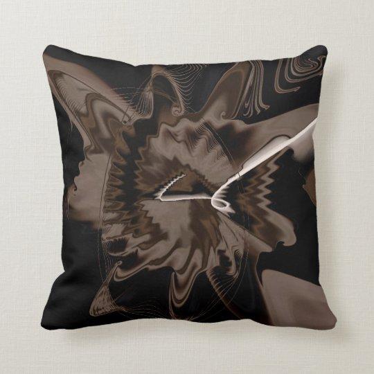 Fractal Colors Art No 343 Throw Pillow