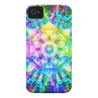 Fractal Colors iPhone 4 Case