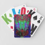 fractal complejo baraja cartas de poker