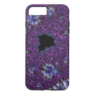 Fractal complejo púrpura violeta elegante funda iPhone 7 plus