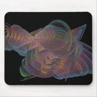 Fractal Coral Reef Design Mouse Pad