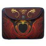 Fractal - corazón - amor del Victorian Fundas Macbook Pro