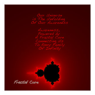 Fractal Core - Images of the Infinite Inside Posters