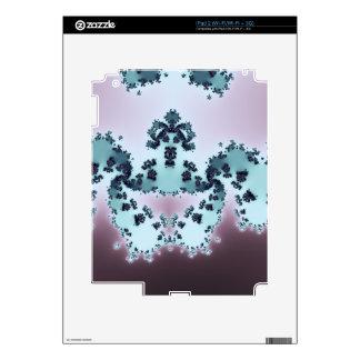 Fractal coronado de la criatura calcomanía para iPad 2