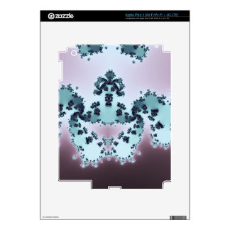 Fractal coronado de la criatura pegatina skin para iPad 3