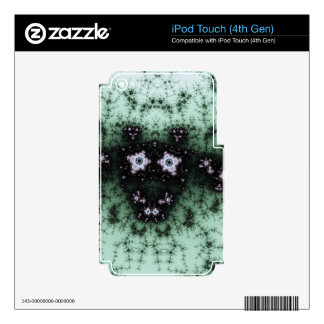Fractal Cow Decal For iPod Touch 4G