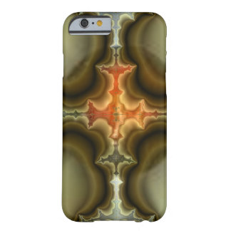 Fractal Cross Art Barely There iPhone 6 Case