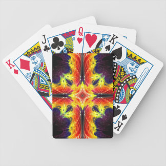 Fractal Crossfire - Bicycle playing cards