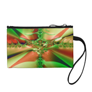 Fractal Crossroads Change Purse