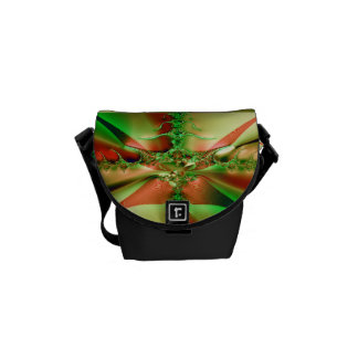 Fractal Crossroads Courier Bag