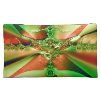 Fractal Crossroads Makeup Bag