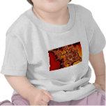 Fractal de alto voltaje abstracto camiseta