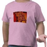 Fractal de alto voltaje abstracto camisetas