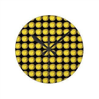 Fractal de cerámica hecho girar relojes