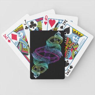 Fractal de cristal barajas de cartas