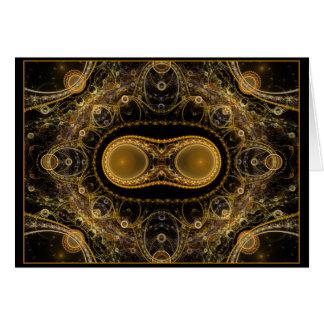 Fractal de Fabergé Felicitación