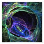 Fractal de la energía impresión fotográfica