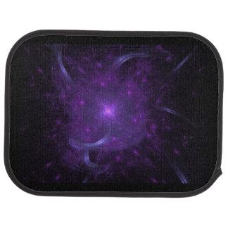 Fractal de la esperanza en púrpura alfombrilla de auto