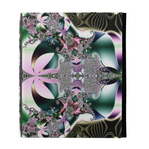 Fractal de la flor de Lotus de la joya de la coron