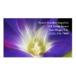Fractal de la foto de la correhuela plantilla de tarjeta de negocio