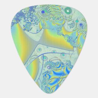 Fractal de la imagen secundaria 3D Púa De Guitarra