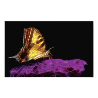 Fractal de la mariposa cojinete