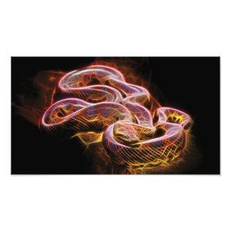 Fractal de la serpiente fotografías