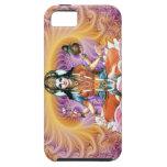 Fractal de Lakshmi de la lavanda iPhone 5 Case-Mate Protector