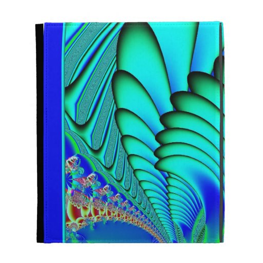 Fractal de las fans del coral y de mar