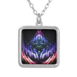 Fractal de las vibraciones del arco iris colgante cuadrado