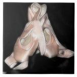 Fractal de los zapatos de ballet tejas