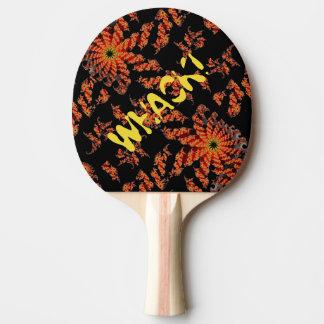Fractal de oro de giro pala de tenis de mesa