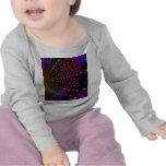 Fractal de Psyched del arco iris Camisetas