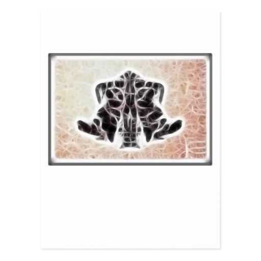 Fractal de Rors cuatro Tarjetas Postales