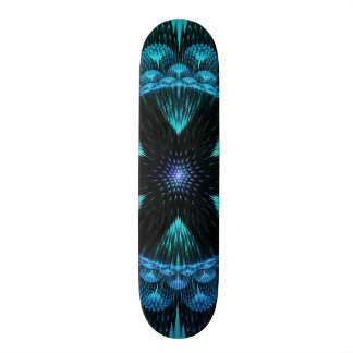 Fractal decorativo impresionante enrrollado de la  tablas de skate